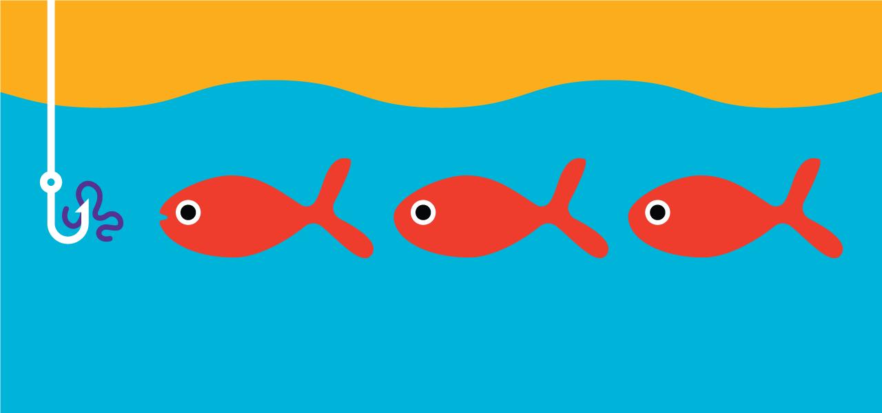 inbound marketing fishing